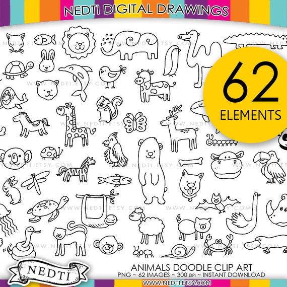 PNG Clipart Lineart Strichzeichnungen Tier Tiere