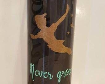 Peter Pan inspired water bottle