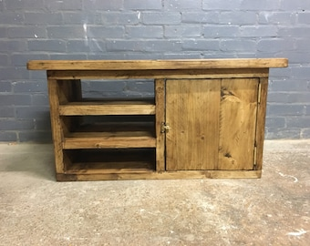RUSTIC - Reclaimed Wooden TV Stand