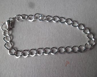 x 1 horse with clasp 20 cm link chain bracelet