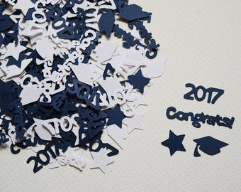 Graduation Confetti - 2018 Graduation Decorations - Graduation Table Scatter - Graduation Themed Decorations - Graduation Party - Hootsie