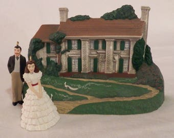 Vintage 1996 Hallmark Gone With the Wind miniatures - QXM4211