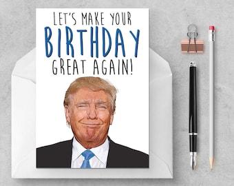 Donald Trump - Birthday Great Again