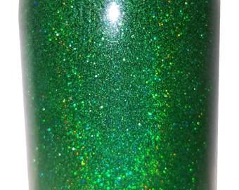 Grass Green Prism Holographic Nail Art Glitter. True Ultra Fine Multi-Color Nail Polish Glitter. Free Shipping!
