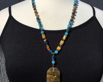 Tiger eye and the sky. New!