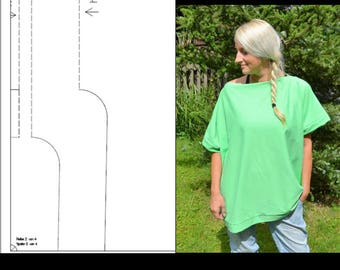 ebook Oversize-Shirt für Anfänger Schnittmuster Nähanleitung pdf download