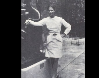Vintage 60s Geoffrey Beene Designer Yoked Chemise Dress Sewing Pattern 2