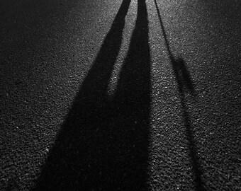 "Skateboarding Photograph - 18X25"" Black and White Photo - J Grant Brittain Photo"