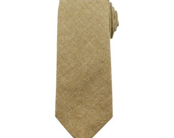 Wheat Chambray Necktie