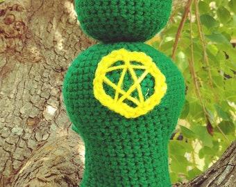 Crochet Horned God 2.0