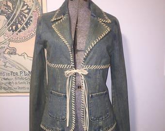 Blanc Noir Kharma vintage jean jacket
