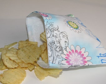 Sale!! Reusable Snack Bag - Tinker Bell