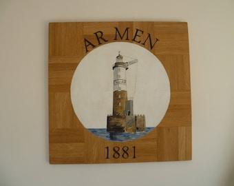 Ar Men headlight painting no Driftwood