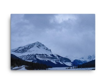 Alberta Rockies Canvas