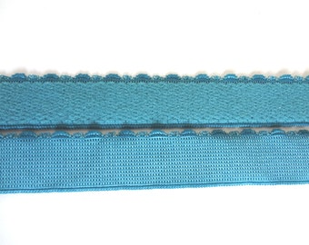 Plush waistband elastic trim for bra, 1 Yd