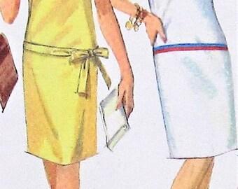 Vintage Dress Pattern Simplicity 6536 Size 16