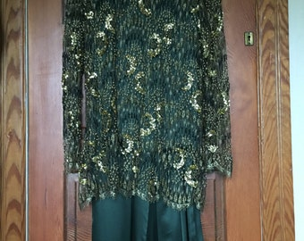 Becky Bisoulis 80s Evening Gown Size L