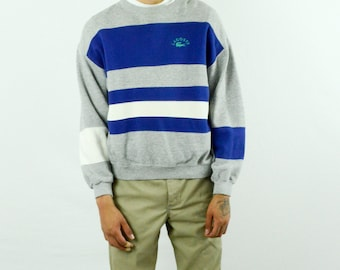 Lacoste Pullover Colorblock Sweater - Size: Large