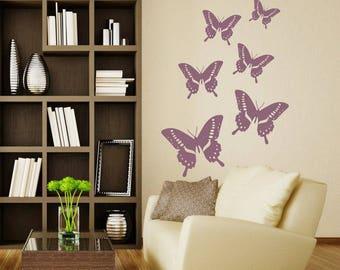Wall sticker - Butterflies  (046n)