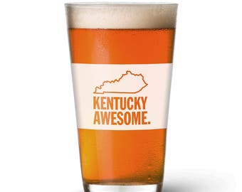 Kentucky Awesome Pint Glass