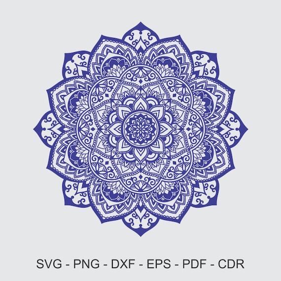 Mandala SVG Mandala Drawing Mandala Iron on Transfer