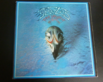 Eagles Their Greatest Hits Vinyl Record LP 6E-105 Asylum Records 1976