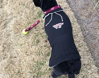 Virginia Tec Dog Hoodie Coat
