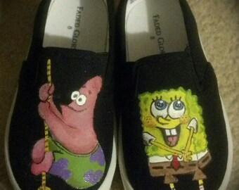 Sponge Bob shoes