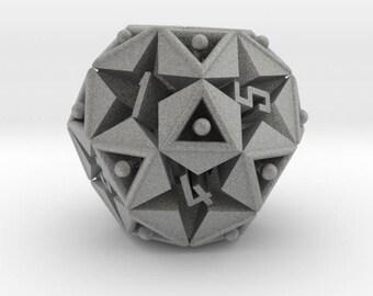 Magische Würfel 12 doppelseitige Icosidodecahedron