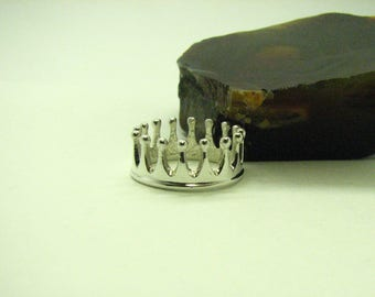 Crown Ring Sterling silver Princes ring
