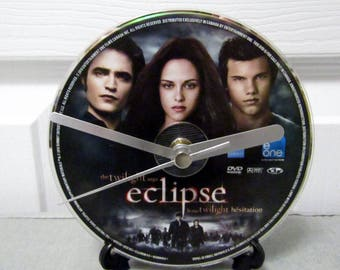 Twilight Eclipse DVD Clock DIY Vampire Movie Decor (Disc 1)