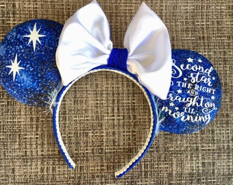 Peter Pan Mickey Ears, Peter Pan Minnie Ears, Peter Pan Disney Ears, Fairy Ears