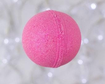 Candy Girl Jumbo Bath Bomb - Glitter, Pink, Sparkle, Girlie Ball Bath Fizzy