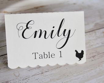 Tischkarten, Tischkarten Karten, Zelt Tischkarten, Hochzeit
