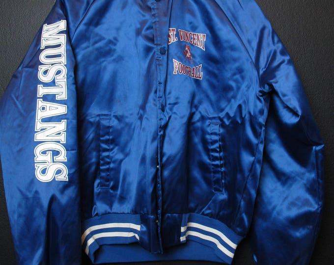 Peteluma St-Vincent Mustangs Football vintage Jacket