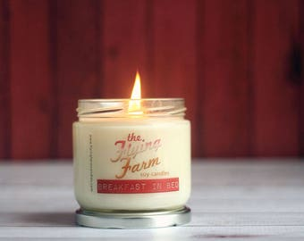 Breakfast in Bed ~ Strawberries and French Toast Scented Soy Jar Candle