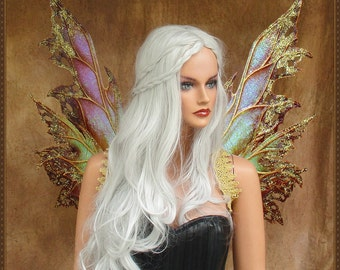 Adult Fairy Wings**Iridescent Gold/Bronze**FREE SHIPPING**Costume/Masquerade/Cosplay/Weddings/Renn Faires/Photo shoots