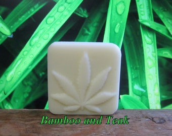 Bamboo and Teak Organic Lotion Bar Extra Large