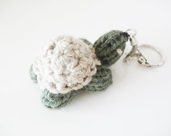 Turtle Keychain made of wool