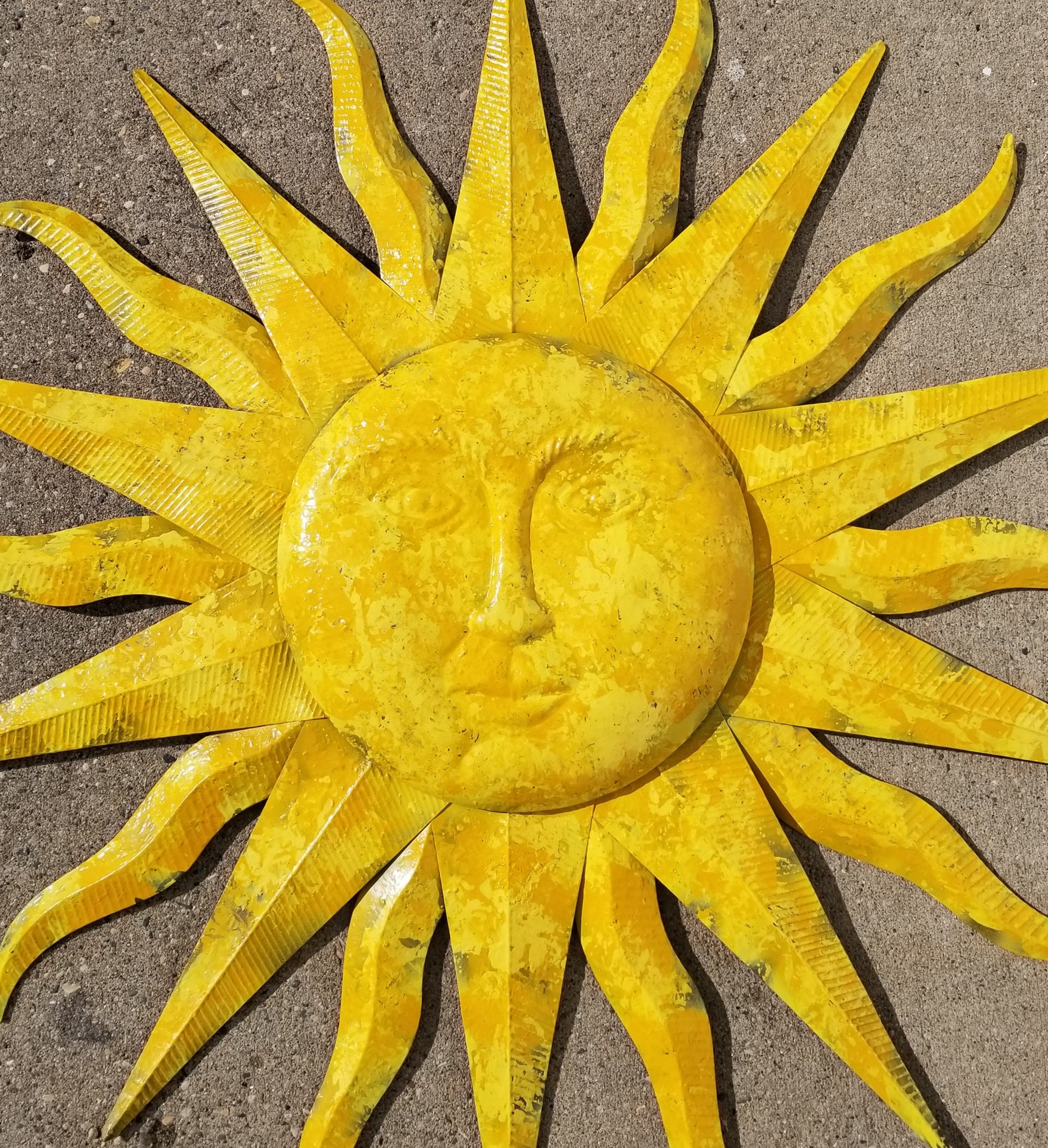 Amazing Sun Outdoor Wall Decor Gift - The Wall Art Decorations ...