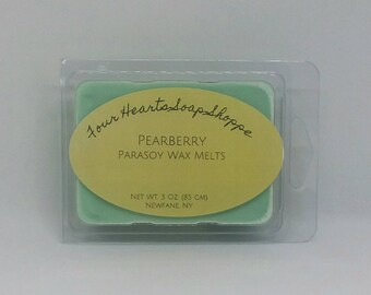 Wax melt, Pearberry, wax tart, clamshell wax melt, soy wax, wax warmer