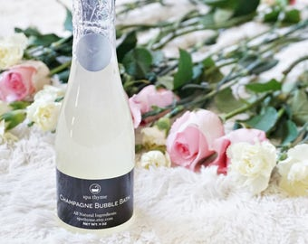 Champagne Bubble Bath | Bath and Body Products | Spa Products | Bubble Baths | wholesale | New home | Mothers day | Natural | Graduation