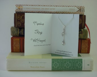 Give Back - A Strange Brightness Lariat - Inspired by Roald Dahl's James and the Giant Peach - Support the Children's Initative
