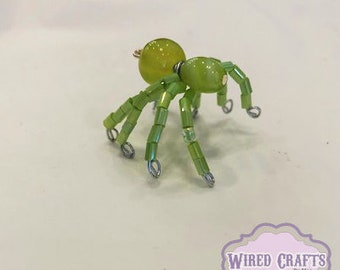 Mini Lime Green Spider
