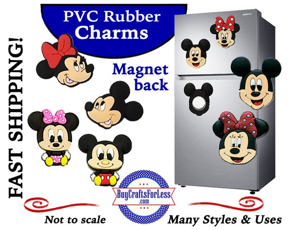 PVC Charms, MOUSE MAGNETs * 20% OFF Any 4 PvC Charms+ShipFREE *