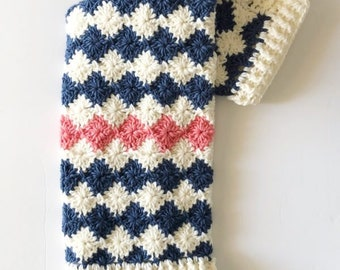 Crochet Harlequin Blanket Pattern