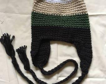 Multi-Colored Ski Hat