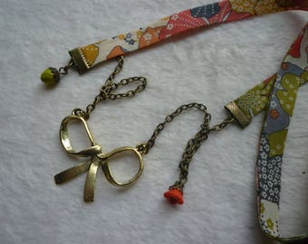 Liberty pretty bow necklace