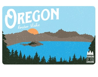 Oregon Coast Vintage | Postcard