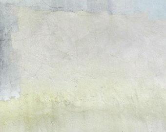 Neutral Abstract Art, Pastel Abstract Photography, Modern Art, Minimalist Art, Urban Decay, Acid Yellow Blush Wall Decor,Blue Abstract Print